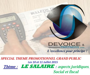 salaire formation