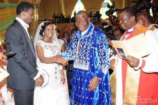 Goodluck Daughter Wedding Gift : Good Luck et sa fille