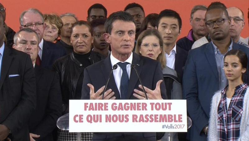 manuel valls candidat election presidentielle 0