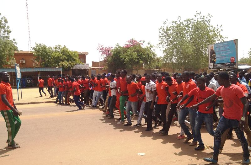 etudiants Universite de Niamey