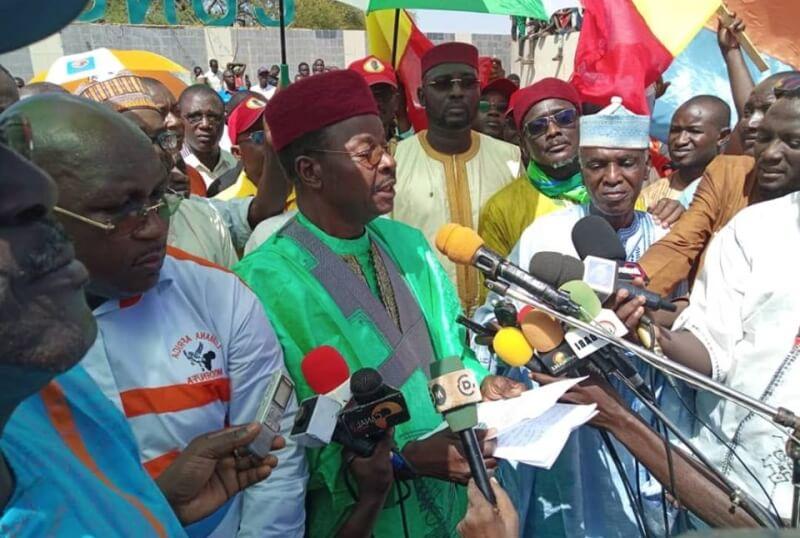 Tensions politiques : le candidat de l'opposition appelle à des marches pacifiques à partir de ce mardi et dans tout le pays