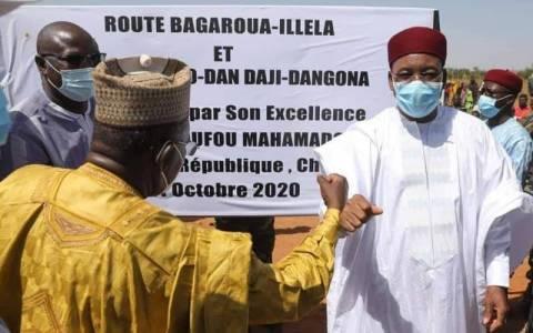 Infrastructures routières: inauguration officielle de la route Illéla-Bagaraoua (Région de Tahoua)