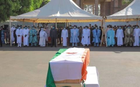 Obsèques officielles de Tandja Mamadou : hommage national à l'ancien président au Palais de la Présidence