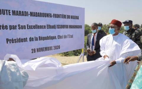 Infrastructures: inauguration officielle de la route bitumée Maradi-Madarounfa-Frontière du Nigeria