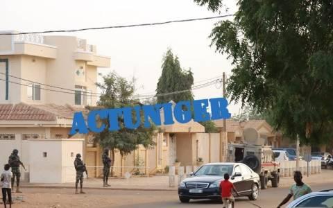 Urgent: le domicile de l'opposant Hama Amadou actuellement encerclé par un imposant contingent des forces de l'ordre (images exclusives)