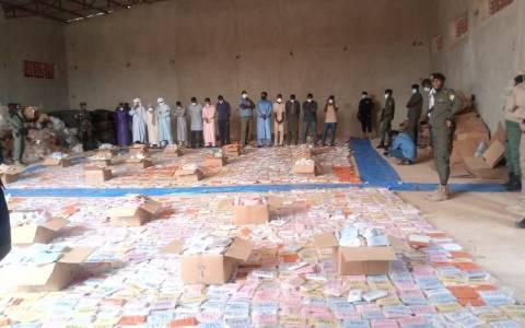 Trafic de drogue : à Niamey, une nouvelle saisie record de 17 tonnes de cannabis à Niamey en provenance du Liban