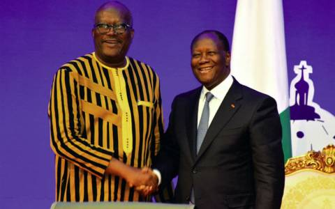 UEMOA : le burkinabé Roch Kaboré succède à l'ivoirien Ouattara à la présidence en exercice de la Conférence des Chefs d'Etat et de gouvernement
