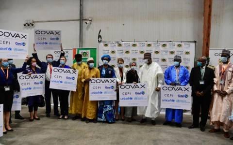 Covid-19 : plus de 355,000 doses de vaccins expédiées par l'intermédiaire du mécanisme COVAX sont arrivées au Niger (Communiqué de presse)