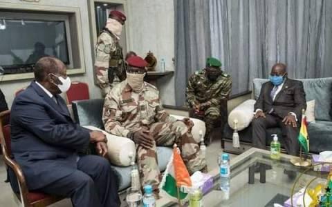 Guinée : la junte militaire oppose une fin de non-recevoir aux exigences de la Cédéao
