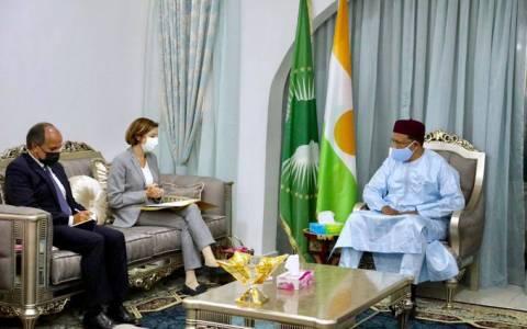Défense et sécurité au Sahel: la ministre française des armées en visite au Niger