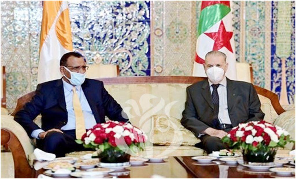 Coopération : le président Bazoum a entamé ce lundi une visite d'amitié et de travail en Algérie