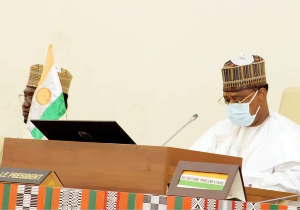 Assemblée nationale: discours du président Seini Oumarou à la clôture de la première session extraordinaire au titre de 2021