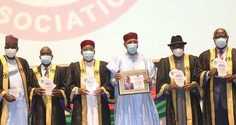 Distinction : plusieurs personnalités du continent honorées par l'Association des Barreaux africains pour leur contribution à l'ancrage de la démocratie en Afrique