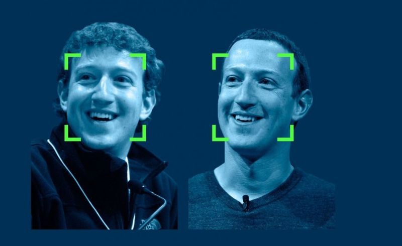 Marc Zuckerberg et son 10 years challenge