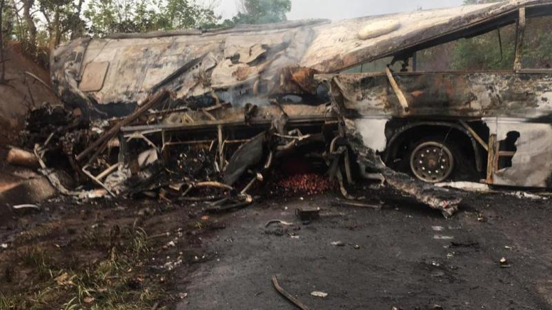 accident bus Ghana BIS