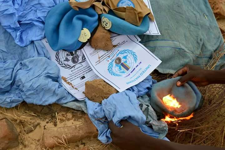 operation brule beret ONU au Tchad