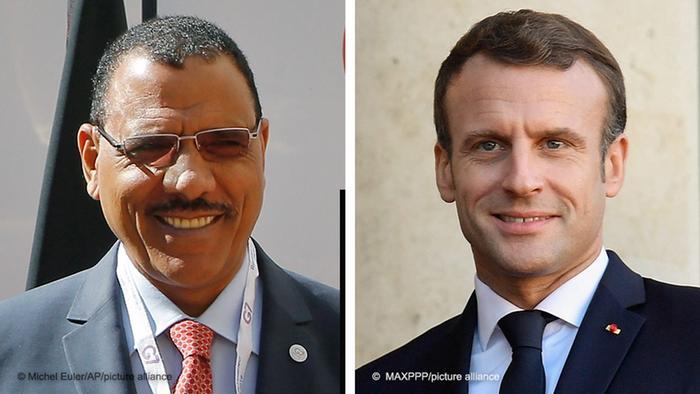 Niger-France : le président Macron s'est entretenu au téléphone avec son homologue Mohamed Bazoum du Niger (Elysée)