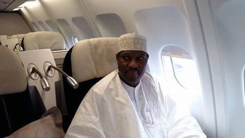 Hama Amadou dans Air France