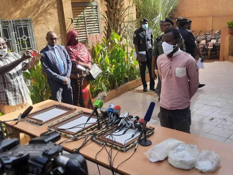 Lutte contre la drogue: 2,385 kilos de métamphétamine saisies à l'aéroport de Niamey