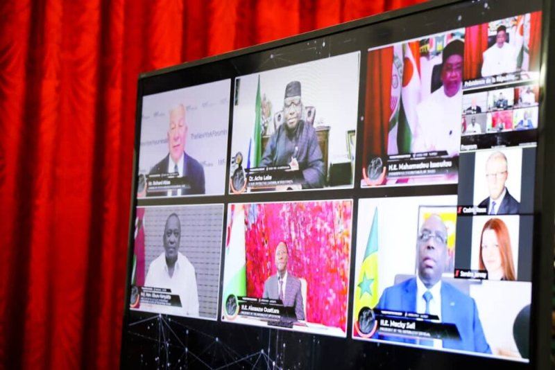 table ronde des chefs d'Etats