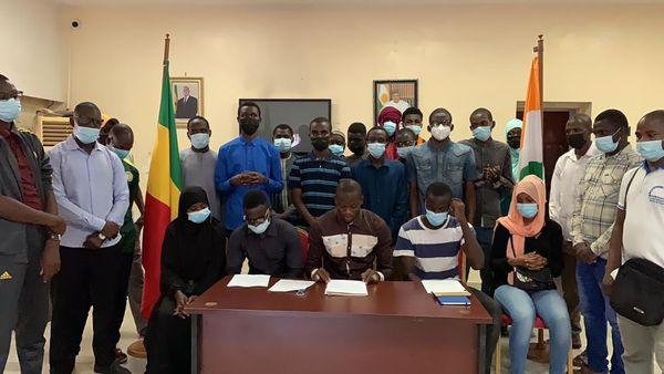 Déclaration de presse l'Amicale des nigériens étudiants et stagiaires au Sénégal (AMINESS)