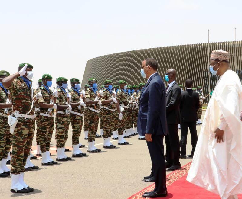 Le chef de l'état, Mohamed Bazoum entame une visite d'amitié et de travail à Brazzaville (Congo)