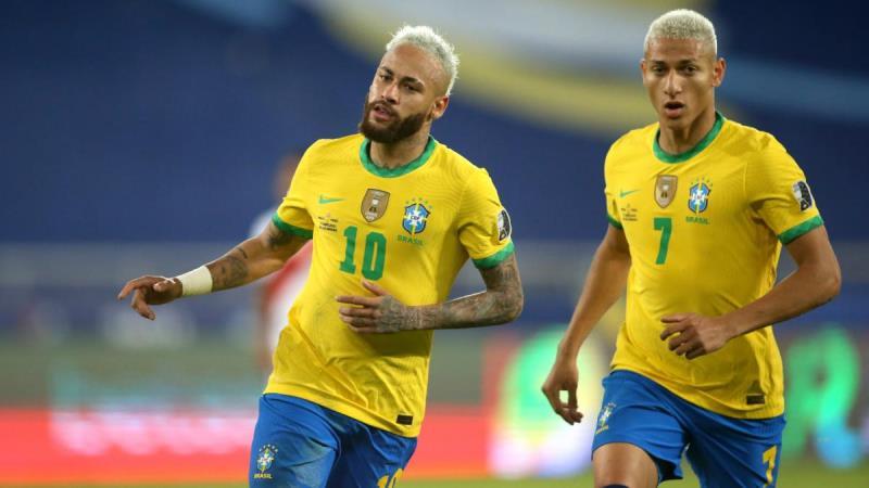 Le Brésil de Neymar bien parti pour gagner la Copa America