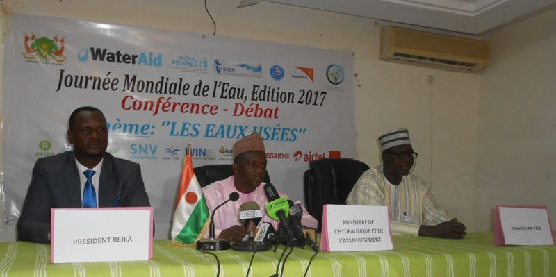 Conference debat Journee mondiale Eau 2017