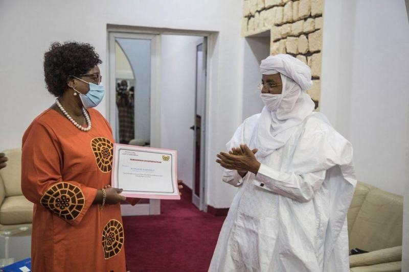 Unicef Niger: en fin de mission, la Représentante Dr. Félicité Tchibindat félicitée par les autorités pour son travail au service des enfants