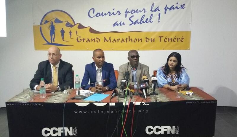 Grand marathon conference presse