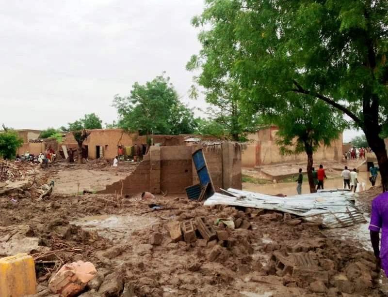 Niger : 28 morts, 12.851 sinistrés et d'importants dégâts déjà enregistrés suite aux fortes précipitations enregistrées depuis le début de l'hivernage (Protection civile)