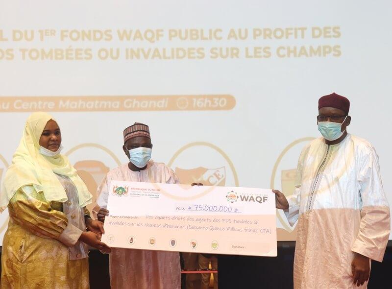Nation : lancement officiel du premier fonds Waqf public au bénéfice des ayant-droits des agents des Forces de Défense et de Sécurité (FDS)