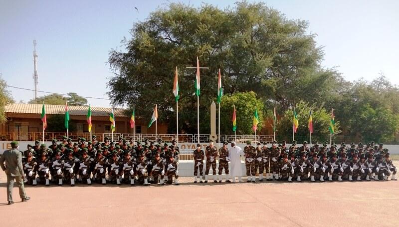 17ème promotion des élèves officiers d'active de l'EFOFAN: 118 élèves officiers prêts et aptes à servir