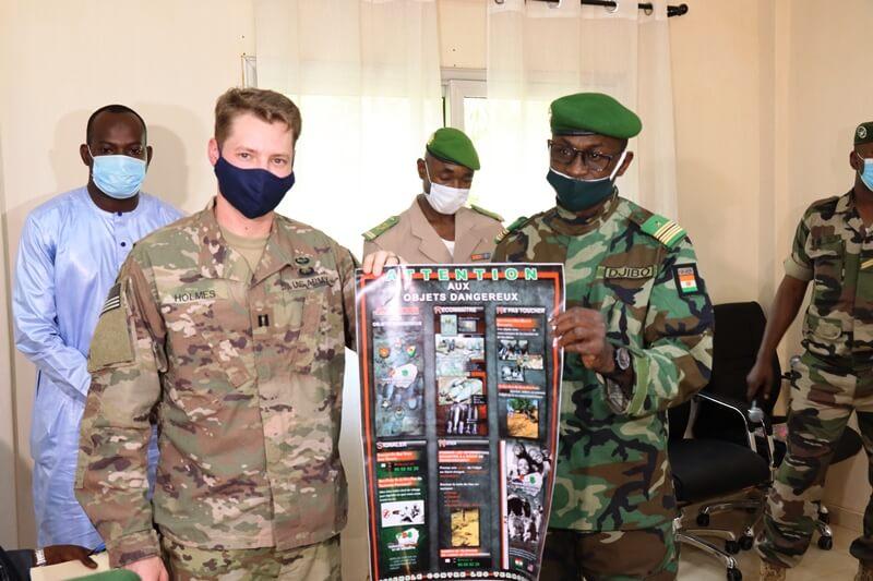 Défense et sécurité: l'armée américaine accompagne les forces armées nigériennes dans la sensibilisation sur le danger des engins explosifs improvisés (EEI)