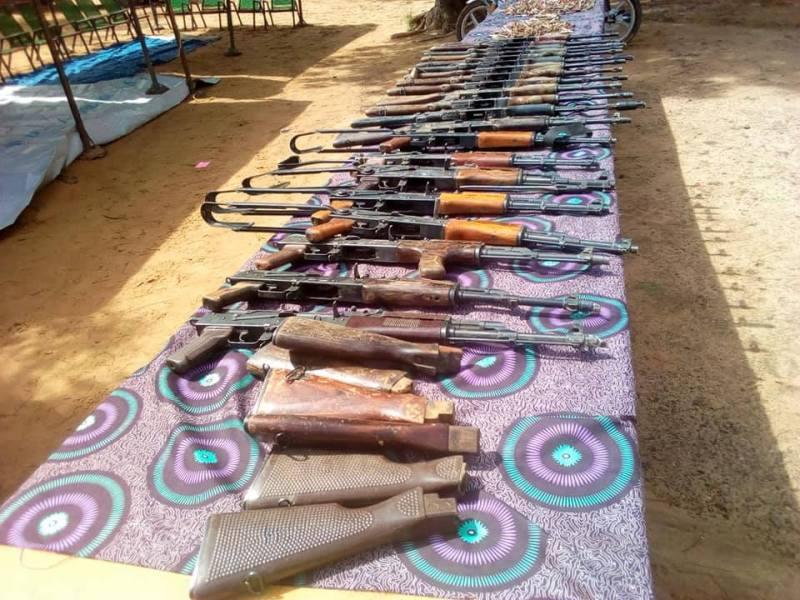 Armes de Guidan Roumdji saisies