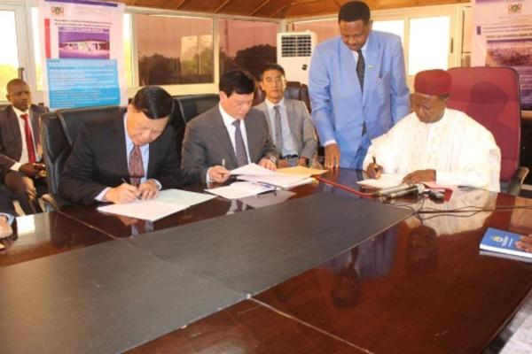 Signature convention Foumakoye et CNPC