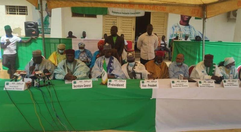 Présidentielle nigérienne : le RPP Farrilla de Oumarou Alma soutient Mohamed Bazoum « pour la stabilité politique et institutionnelle, consolider les acquis de paix et de progrès »