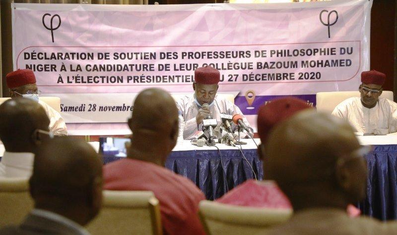 Présidentielles : des professeurs de philosophie apportent leur soutien à leur collègue Bazoum Mohamed, candidat du PNDS Tarraya (Déclaration)