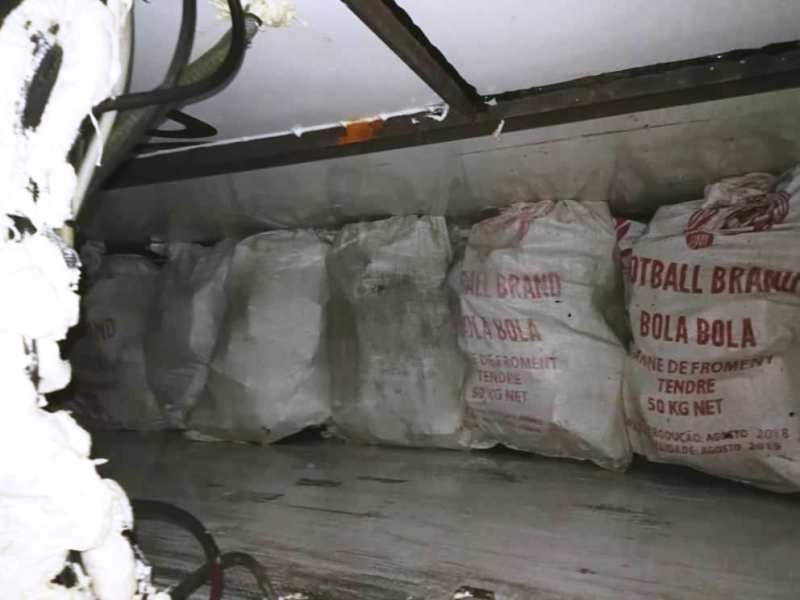 drogue appartenant Mohamed Sidi et complice BIS2