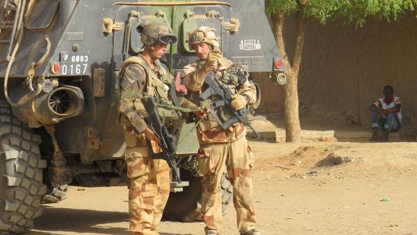 forces armee Francaise au Niger