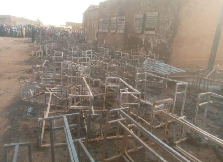 incendie ecole paybas Niamey