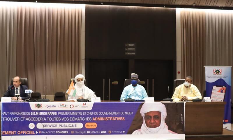 LANCEMENT OFFICIEL DU PORTAIL NATIONAL DE SERVICES PUBLICS: l'administration nigérienne se « digitalise »