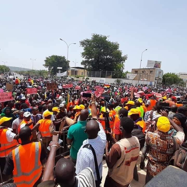 rassemblement opposition place independance Bamako BIS4