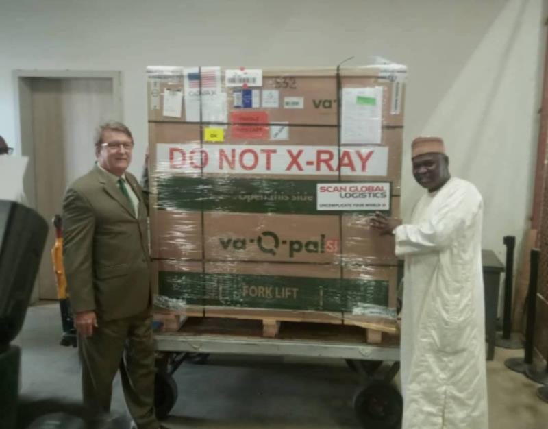 Lutte contre la COVID-19: les Etats-Unis offrent au Niger 300.000 doses de vaccins Johnson &Johnson