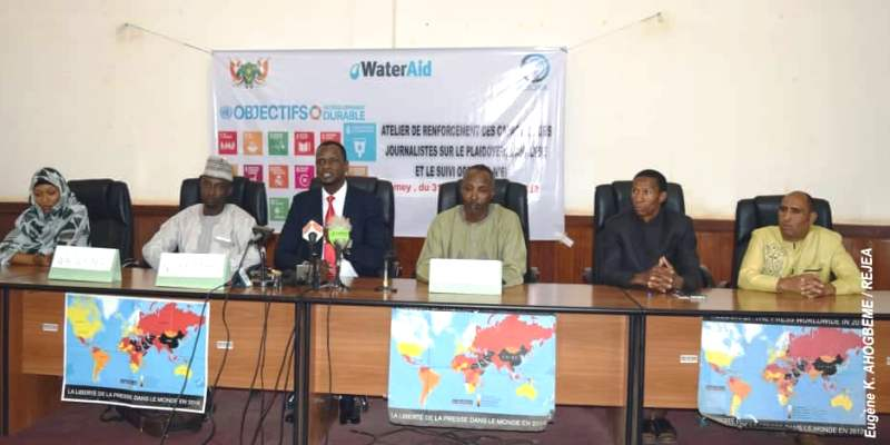 water aid rejea formation journaliste BIS